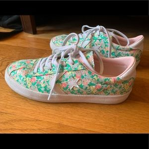 Converse Breakpoint Floral Low Top